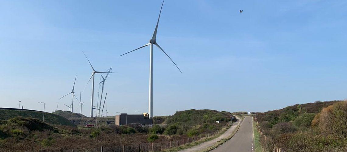 We bouwen Windpark Ferrum bij Tata Steel, IJmuiden