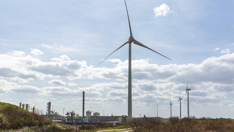 Start testfase van Windpark Ferrum bij Wijk aan Zee